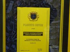 2011, Spominska plaketa PVD Sever Gorenjska