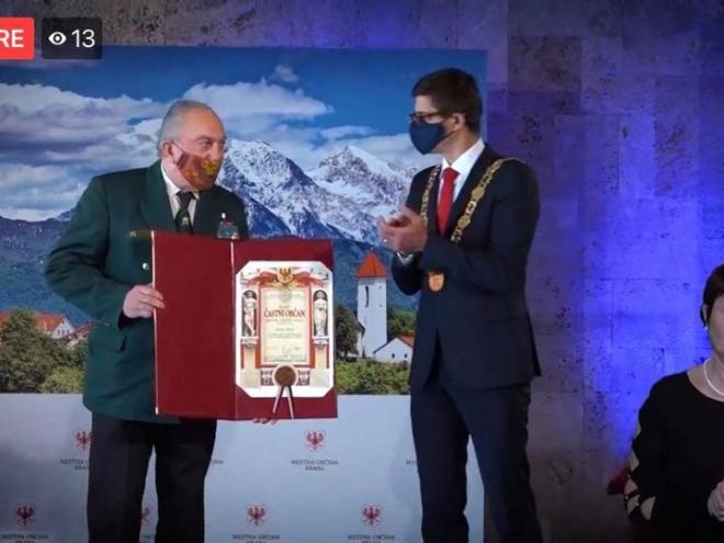 Anton Rešek, častni občan MO Kranj